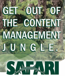 Get out of the Content Management Jungle
